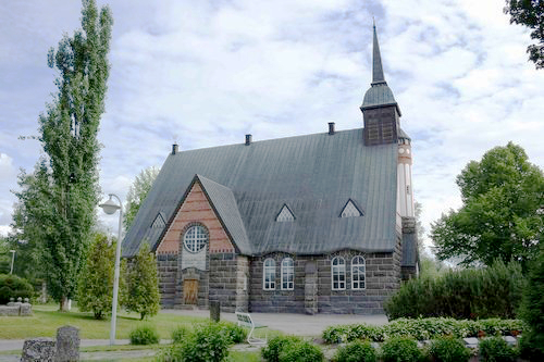 Pomarkun kirkko